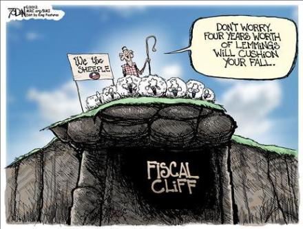 sheeple - fiscal-cliff-cartoon-sheep