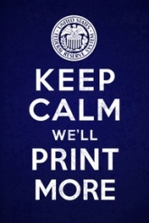 Keep Calm - FED RESERVE