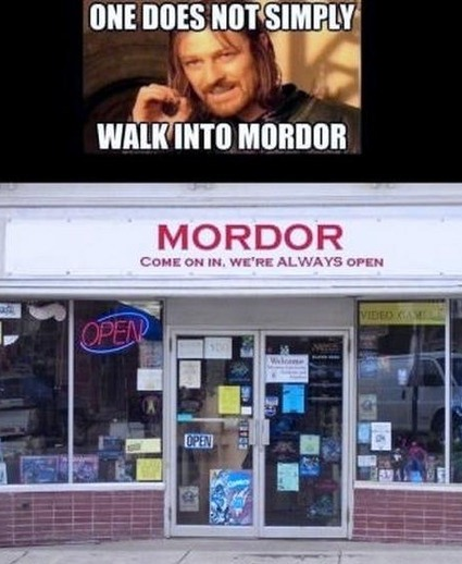 MORDOR - Come on in!