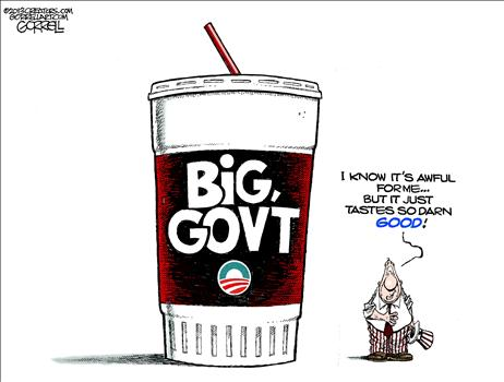 Big Govt - by Bob Gorrell