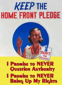 Never question authority