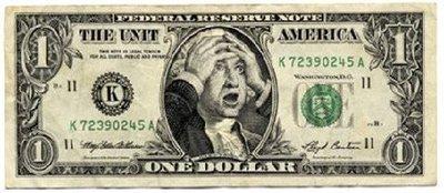 Shocked dollar