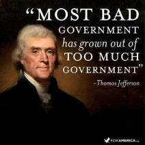 too much government