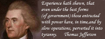 Jefferson on gov't
