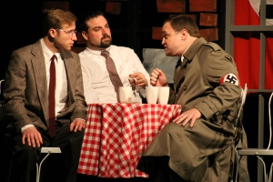 "Bonhoeffer and co-conspirators in afO's production of ""The Beams are Creaking"" May 2013"