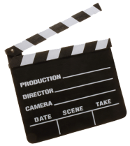 Movie Clapper Board 222