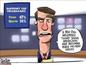 Racist Obamacare