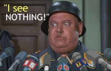 Sgt-Shultz  I see nothing