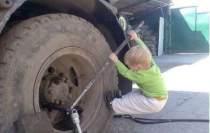 baby tire
