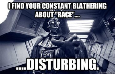 Darth - race is disturbing 9