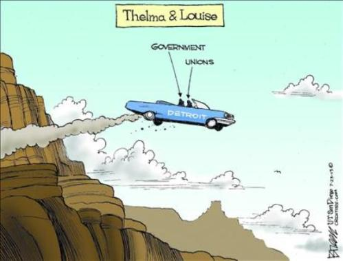 detroit - thelma and louise