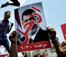 Morsi - deposed