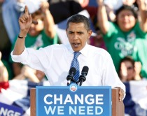 Barack Obama Campaigns Less Than Two Weeks Away From Election Day