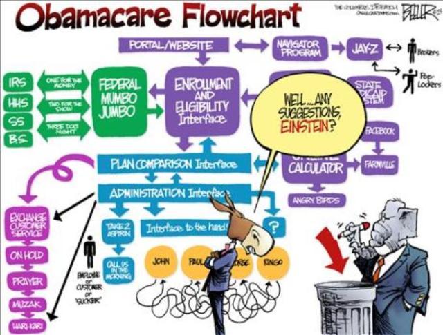 Obamacare Flowchart....