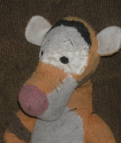 Tigger after cosmetic surgery. Pre-surgery photos have been omitted as too upsetting for most audiences.
