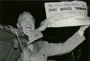 Truman news headline