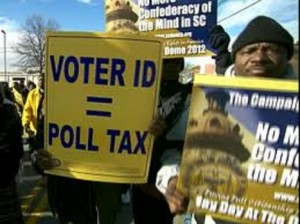 Voter ID is Poll tax 7