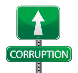 corruption ahead