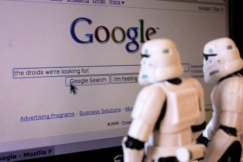Droids looking for
