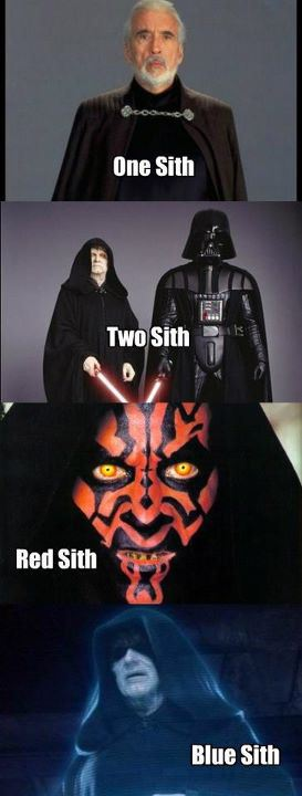 One sith two sith