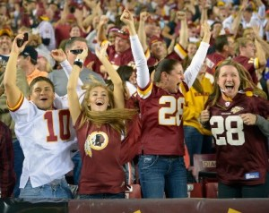 39 redskins fans