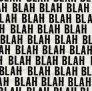 Blah Blah Blah -