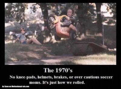 1970s - No Helmet