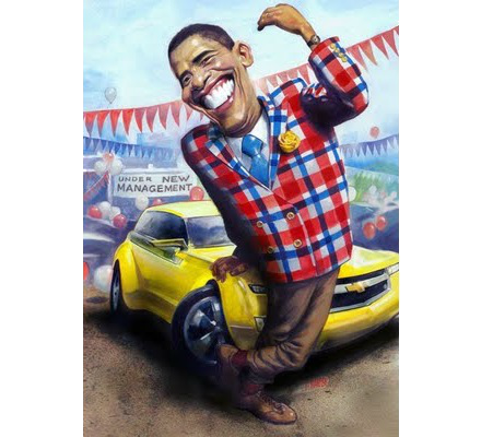 Car salesman Obama
