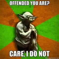 Yoda offended 333