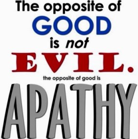 good vs apathy