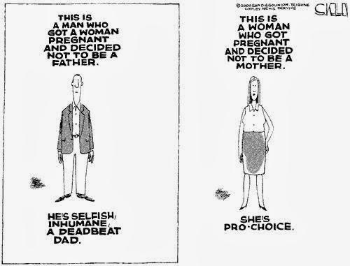 Steve Kelley - Man v Woman Prochoice