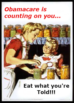 Eat what youre told...