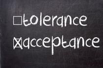 tolerance vs acceptance