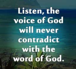 voice of God 5457