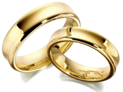 wedding rings - husband and wife 353