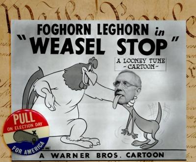 Harry Reid - Weasel