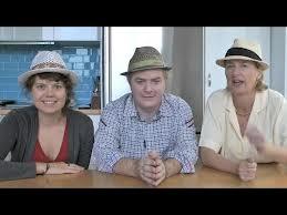 l. to r., Magdalena, Phelim, Ann