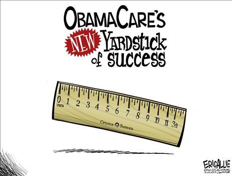 Obamacare - New measurement - Eric Allie - 4-16-2014