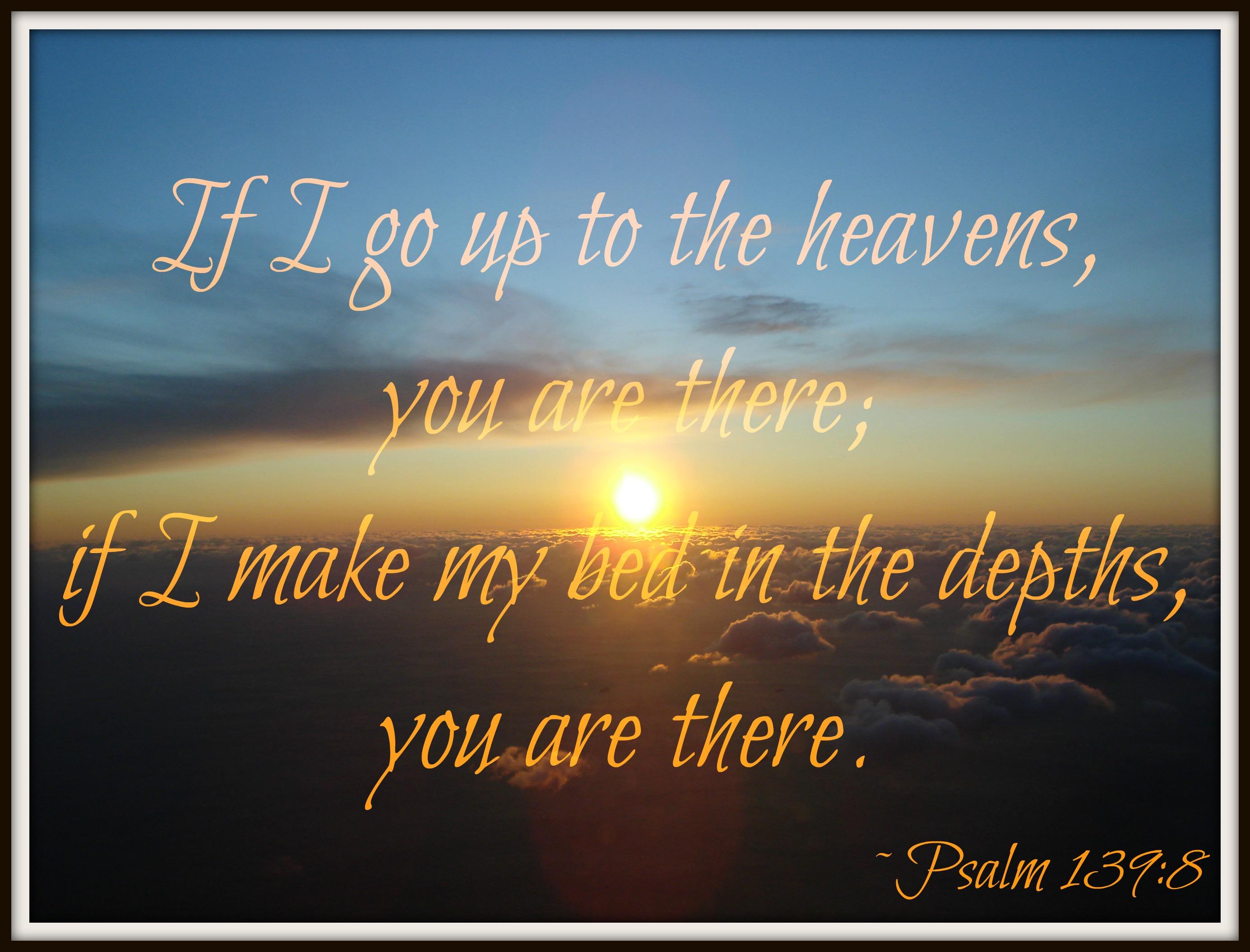 Psalms 139 reflection