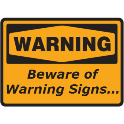 Warning Sign -