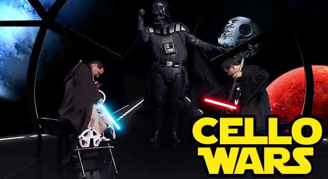 Thepianoguys from youtube bring to you the next internet phenomenon cello wars (star wars parody)