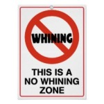 Sign Whining