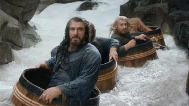Smaug barrels dwarves